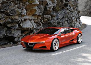 BMW M1 Concept Side