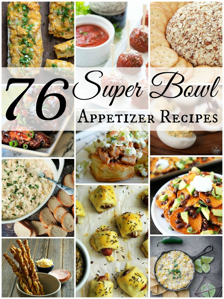 76 Super Bowl Appetizer Recipes from www.bobbiskozykitchen.com