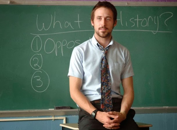 Ryan Gosling in Half Nelson movie