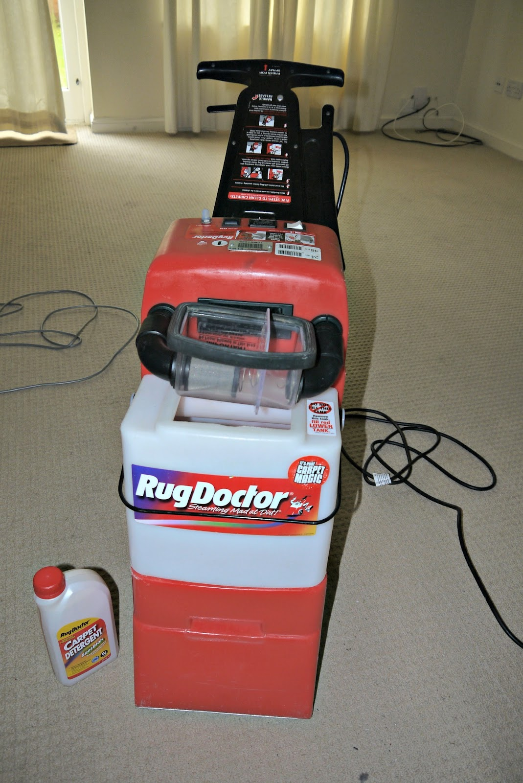 rent rug shoo machine