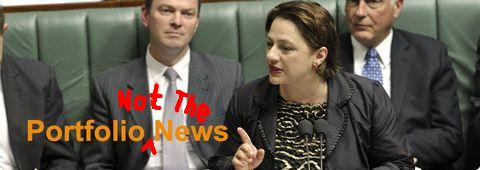 Sophie Mirabella - Not the news