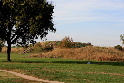 Monks mound Cahokia ancient site