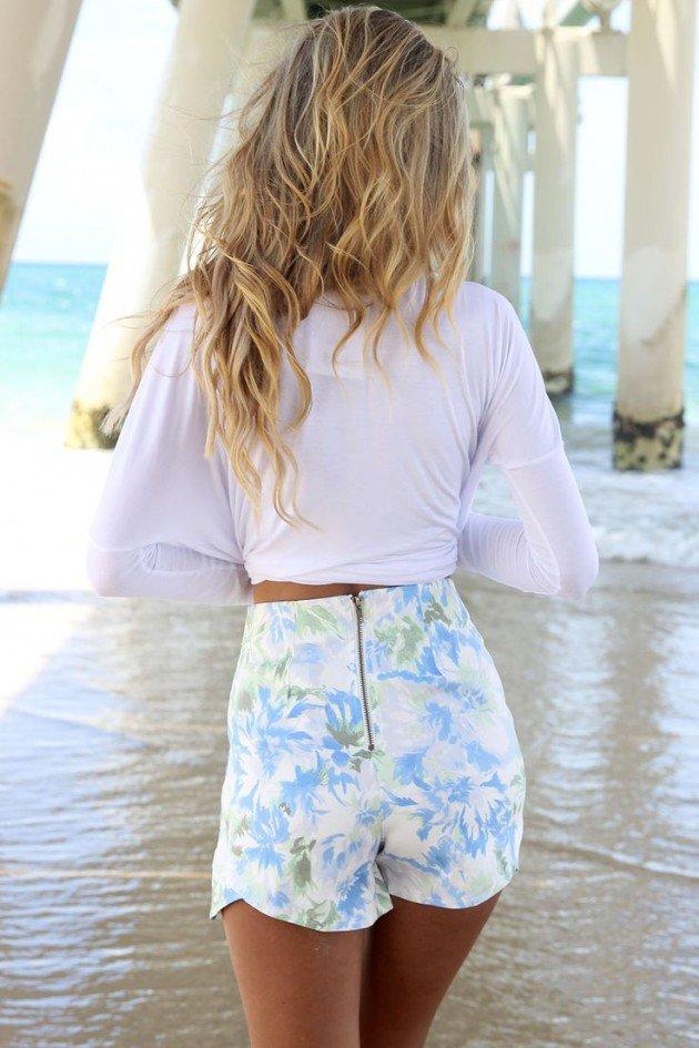 Los mejores outfits de pantalones cortos   Belleza y Moda