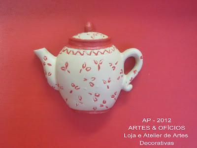 caixa de chá: craquelê e decoupage Renato+019