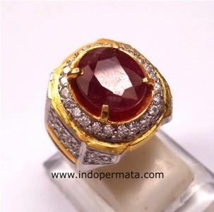 ... Murahbatu permata ruby-merah delima-batu mulia-natural-asli-murah