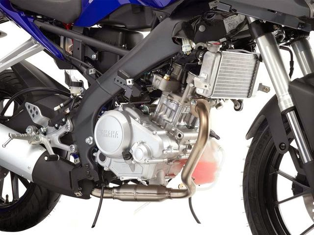 New Yamaha YZF-R125 Terbaru 2014