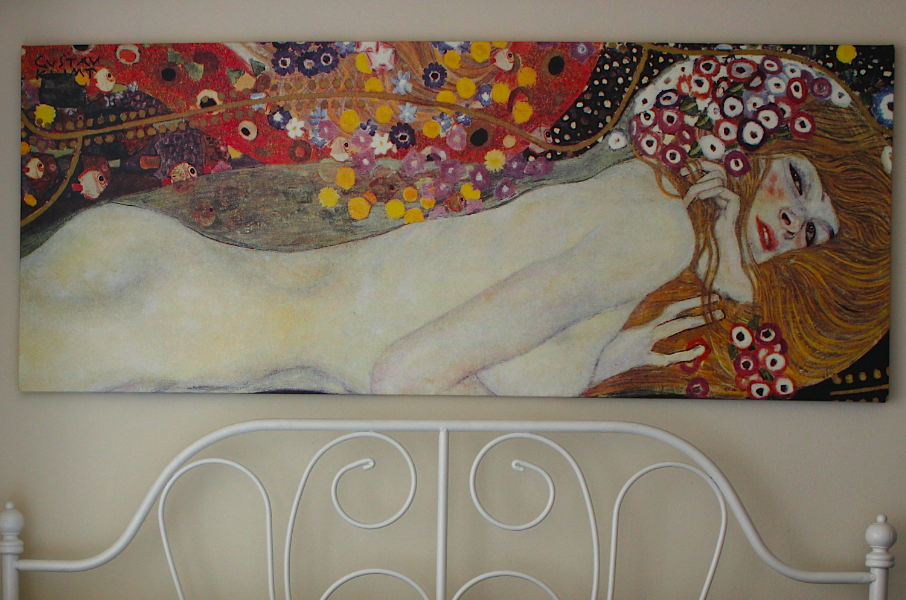 Ikea Klimt Water Serpents II Canvas