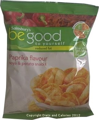 Diets And Calories Reduced Fat Soya Amp Potato Snacks By