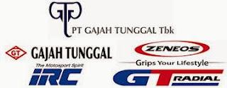 Lowongan Terbaru PT GAJAH TUNGGAL Tbk Tangerang November 2013