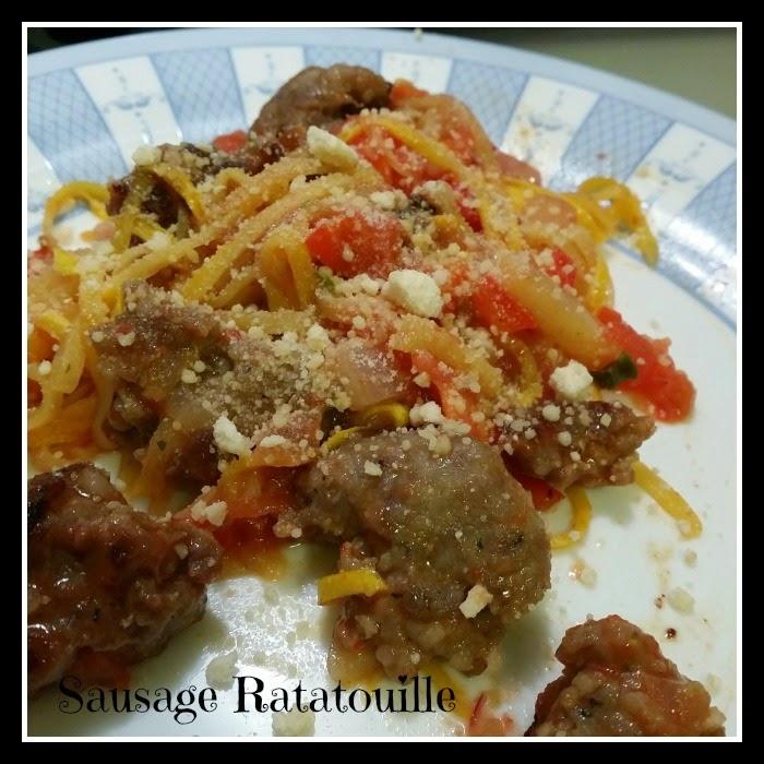 Sausage Ratatouille #Veggetti