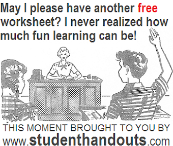 News Blog for www.STUDENTHANDOUTS.com