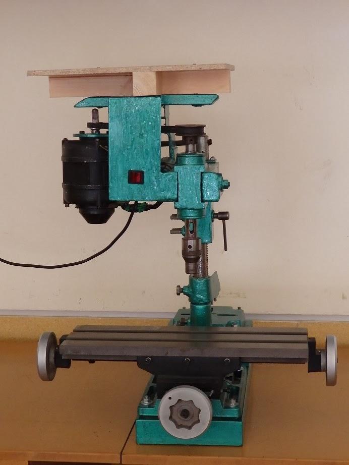 Alma de herrero construcci n casera de fresadora for Mesa de mezclas segunda mano