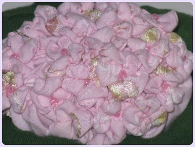 gortenzia гортензия  из  ткани как нарисовать гортензию gortenzia