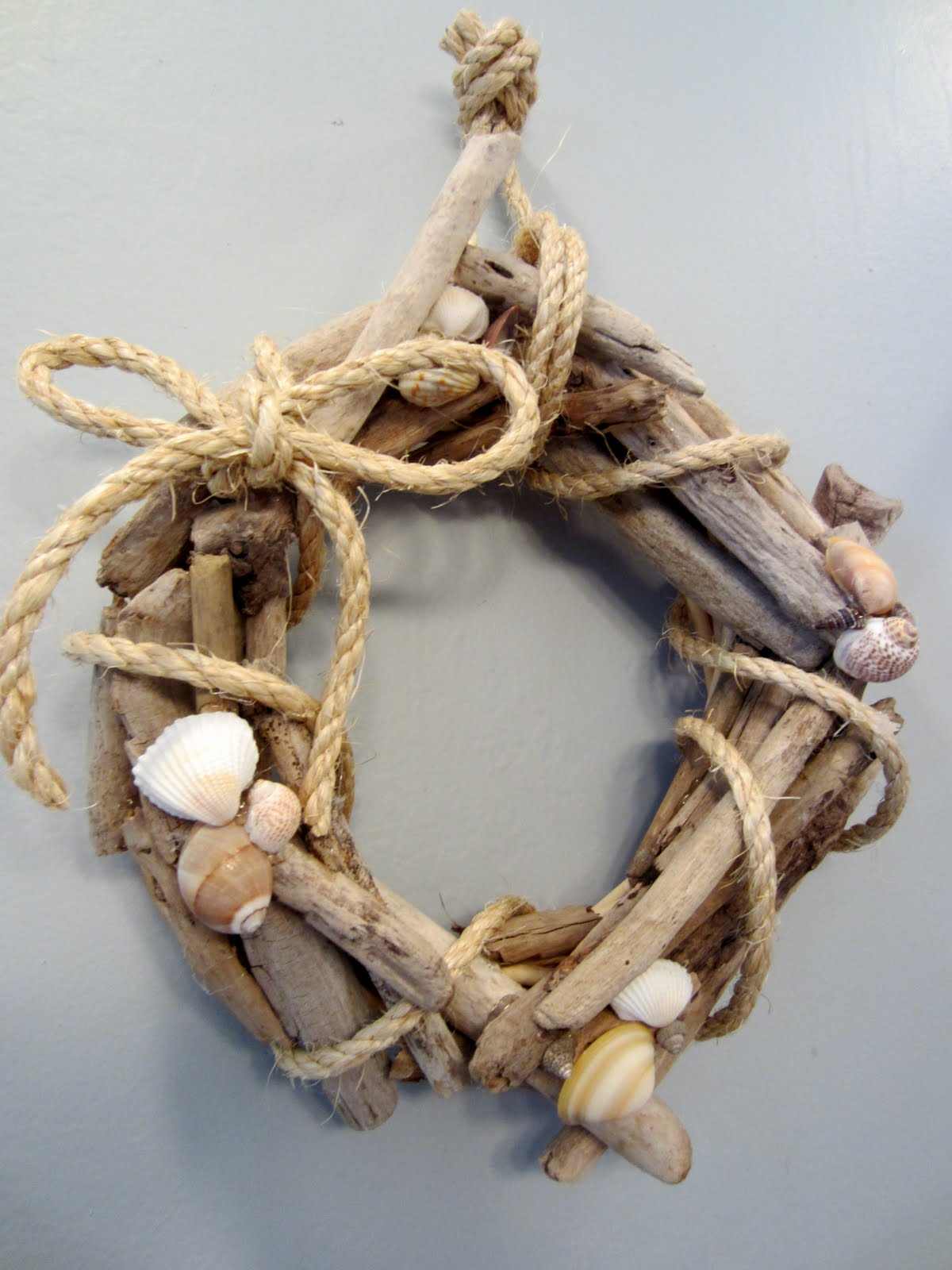 blissfully blessed driftwood wreath tutorial. Black Bedroom Furniture Sets. Home Design Ideas