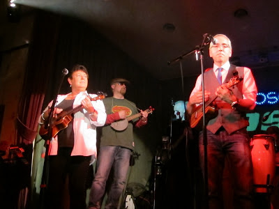 N'Ukes ukulele gig at The Cosey Club 1