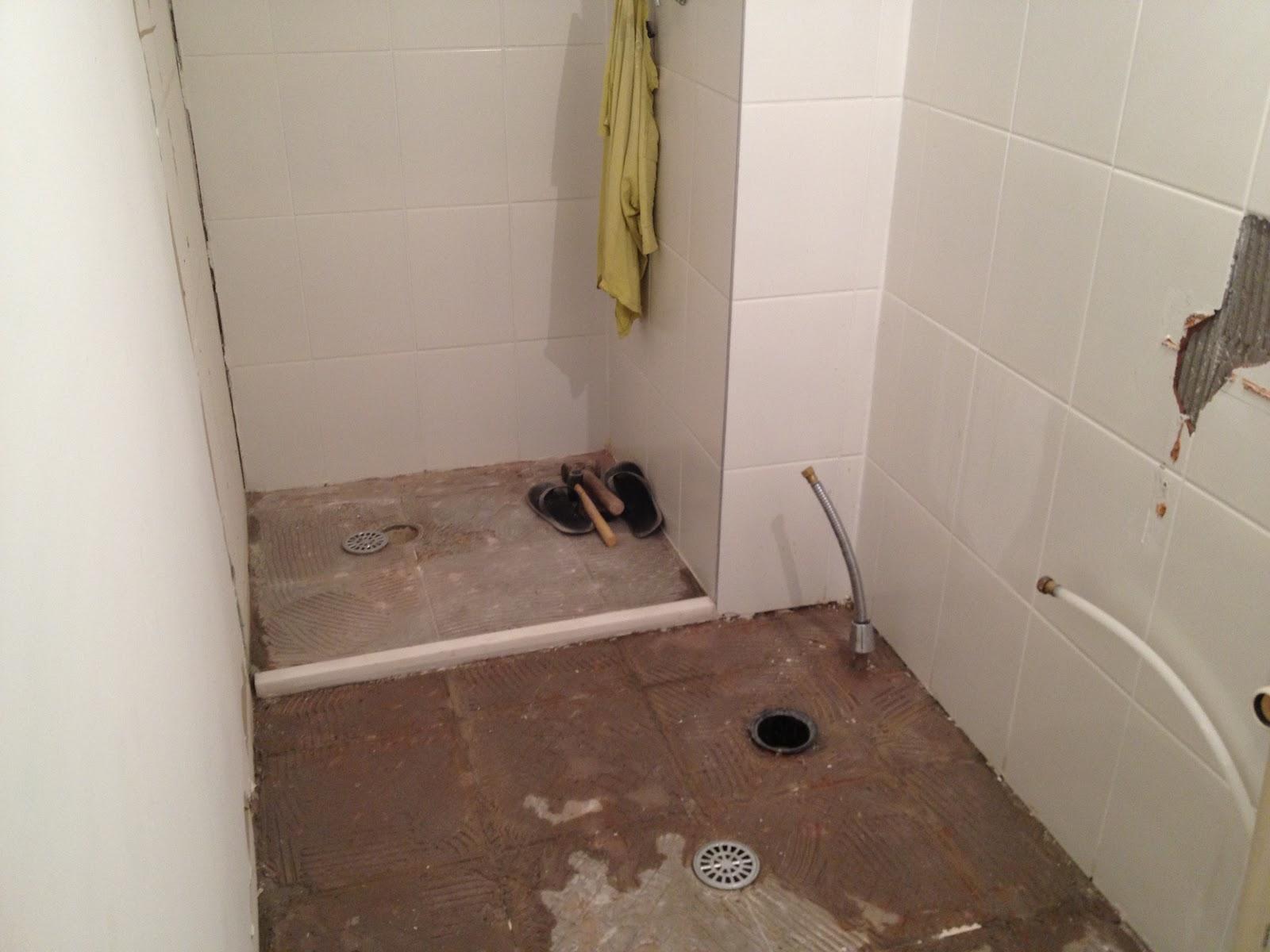 piso material do gesso mais gesso mais entulho banheiro social #634739 1600 1200