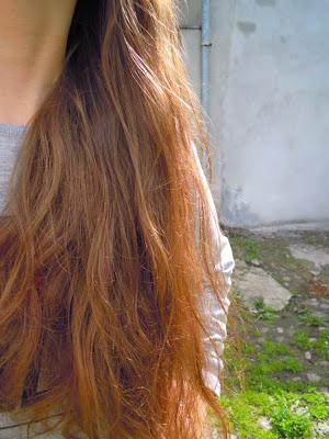Niedziela dla włosów z podgrzewaniem oleju suszarką 3.05.2015