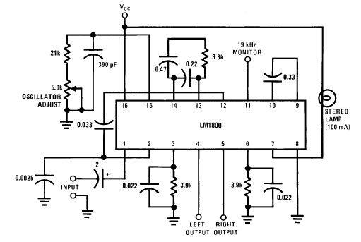 lm1800 fm stereo demodulator