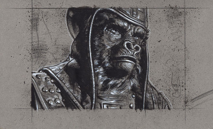 General Ursus, Original Artwork, Copyright © 2014 Jeff Lafferty