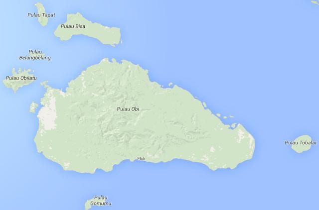 Tempat Wisata Pulau Obi - Wisata Halmahera Selatan