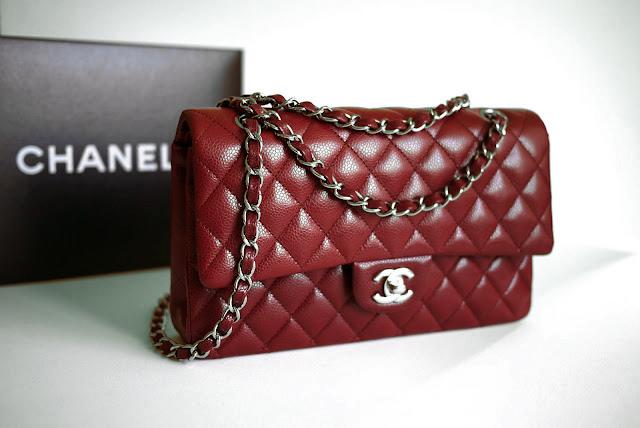 Prized Possession Chanel Burgundy 2 55 Bag