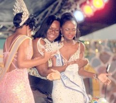 Carnival Queen ,Elisa Thomas, Miss World,