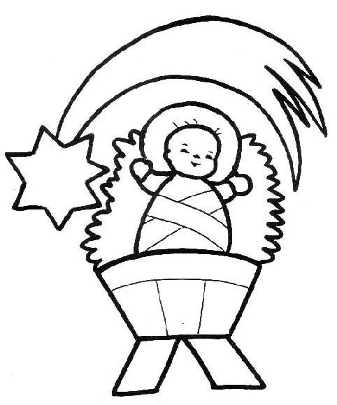 Dibujo del niño dios - Imagui