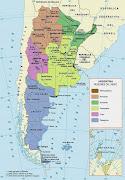 Mapas, mapas y más mapas argentina regiones del indec
