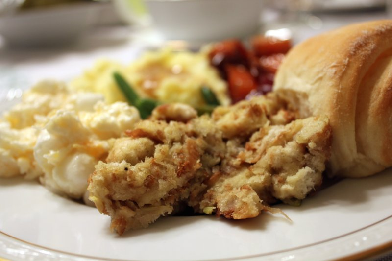 how to make stuffing for chicken from scratch