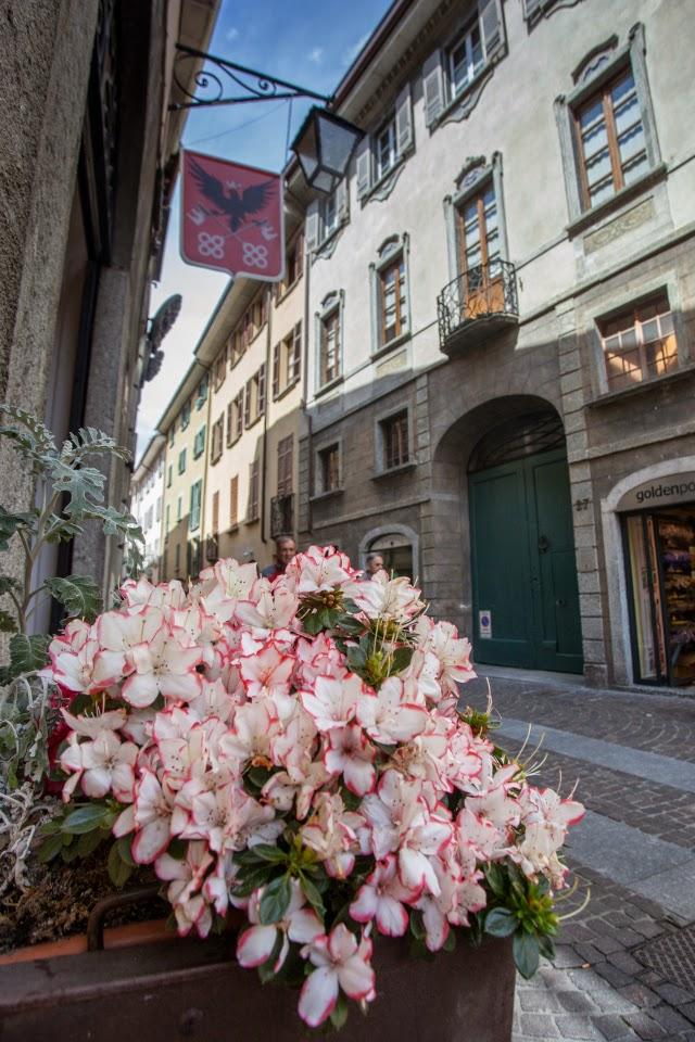 Chiavenna in fiore e Street Food 9 Maggio Chiavenna