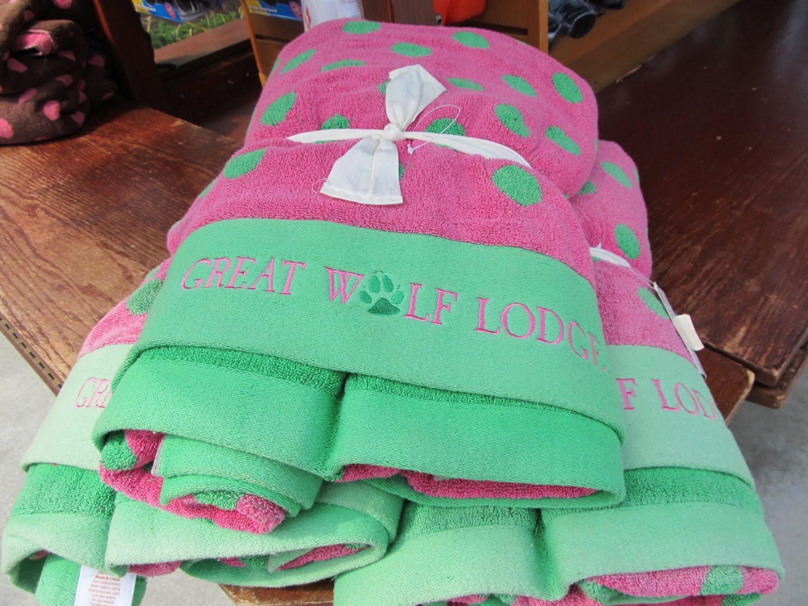 maryland pink and green great wolf lodge