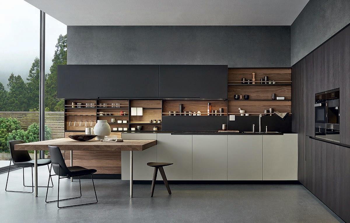 Moderne Kuche Minimalistisch Design