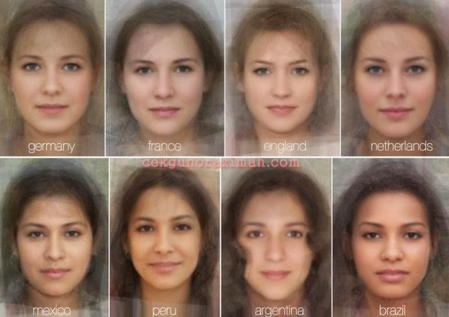 wajah wanita, women faces