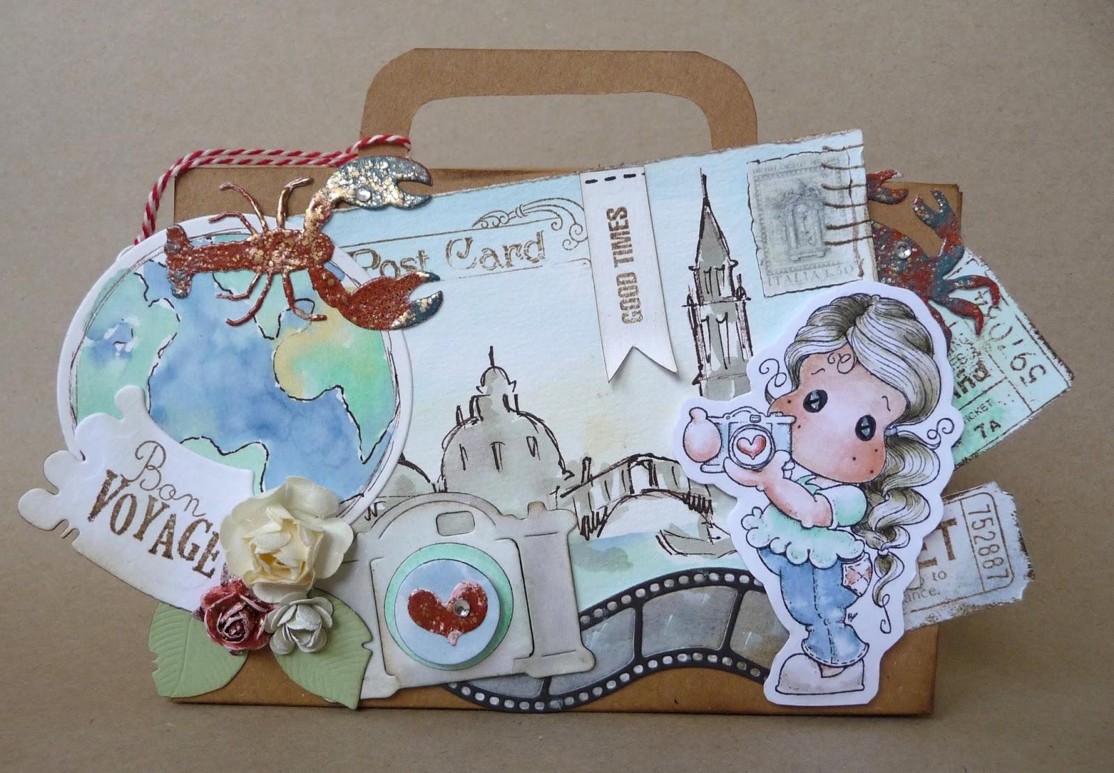 Irenes Hobbywelt Reisekoffer Als Geldgeschenk Mit Insta Tilda
