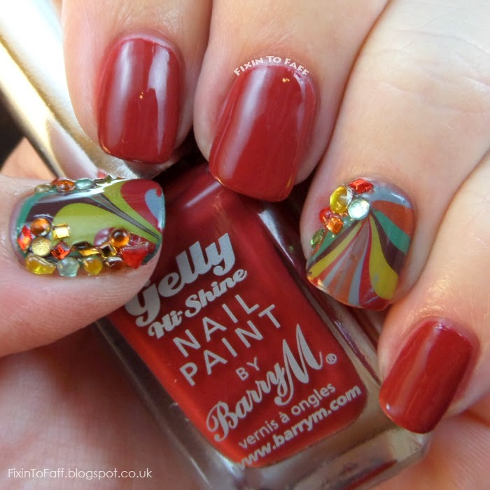 Barry M swatch Chili