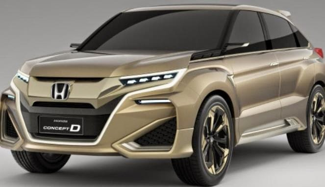 The Car Was Claimed Honda Motor China Tentatively Named Concept D