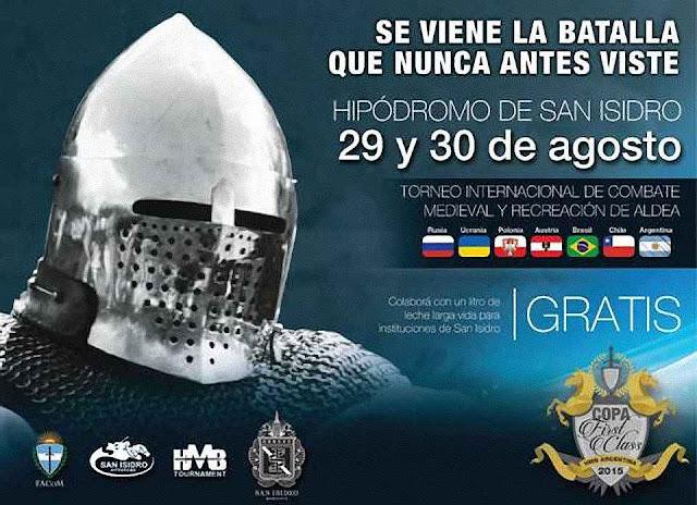 Anúncios de eventos como este espantam pessoas muito desatualizadas. O Brasil estava representado por combatentes.
