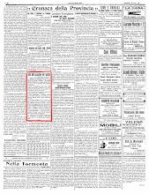 """""""ECO DI BERGAMO"""" 18 AGOSTO 1922"""