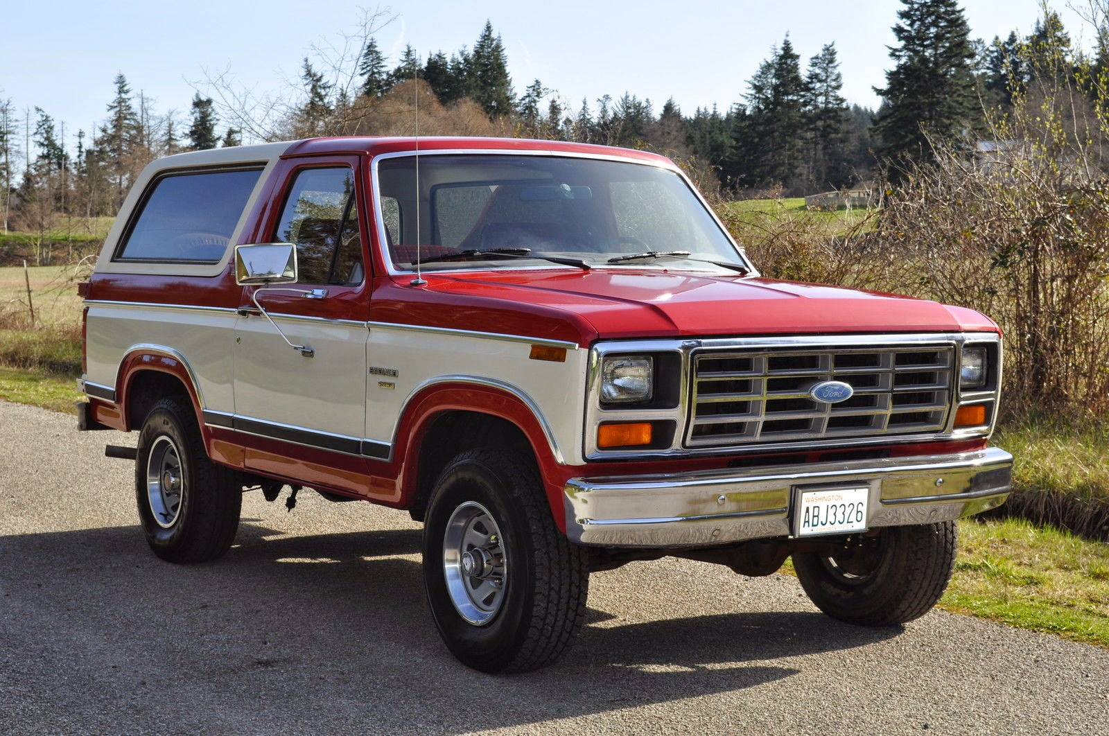 All American Classic Cars: 1982 Ford Bronco XLT Lariat 4x4 2-Door SUV