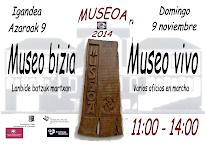 DOMINGO 9 NOVIEMBRE 2014 . DE 11H A 14H. MUSEO VIVO