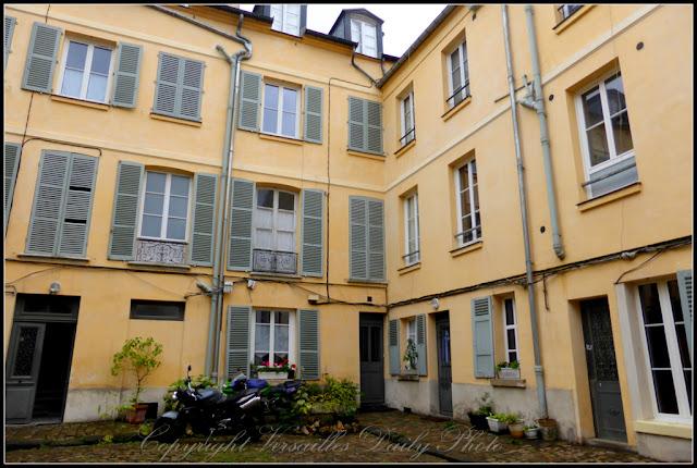 Hôtel du Parc aux Cerfs Versailles rue d'Anjou