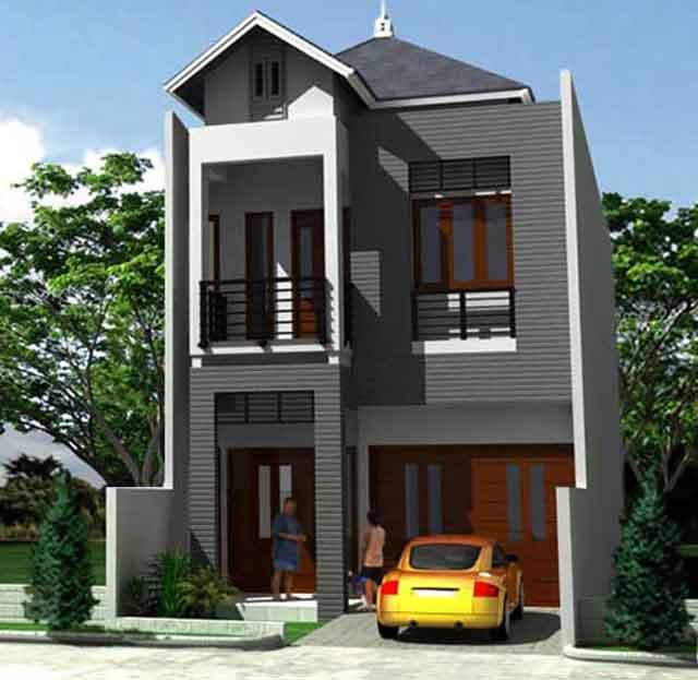 gbr 1 rumah sederhana 1 lantai gbr 2 rumah sederhana minimalis 1