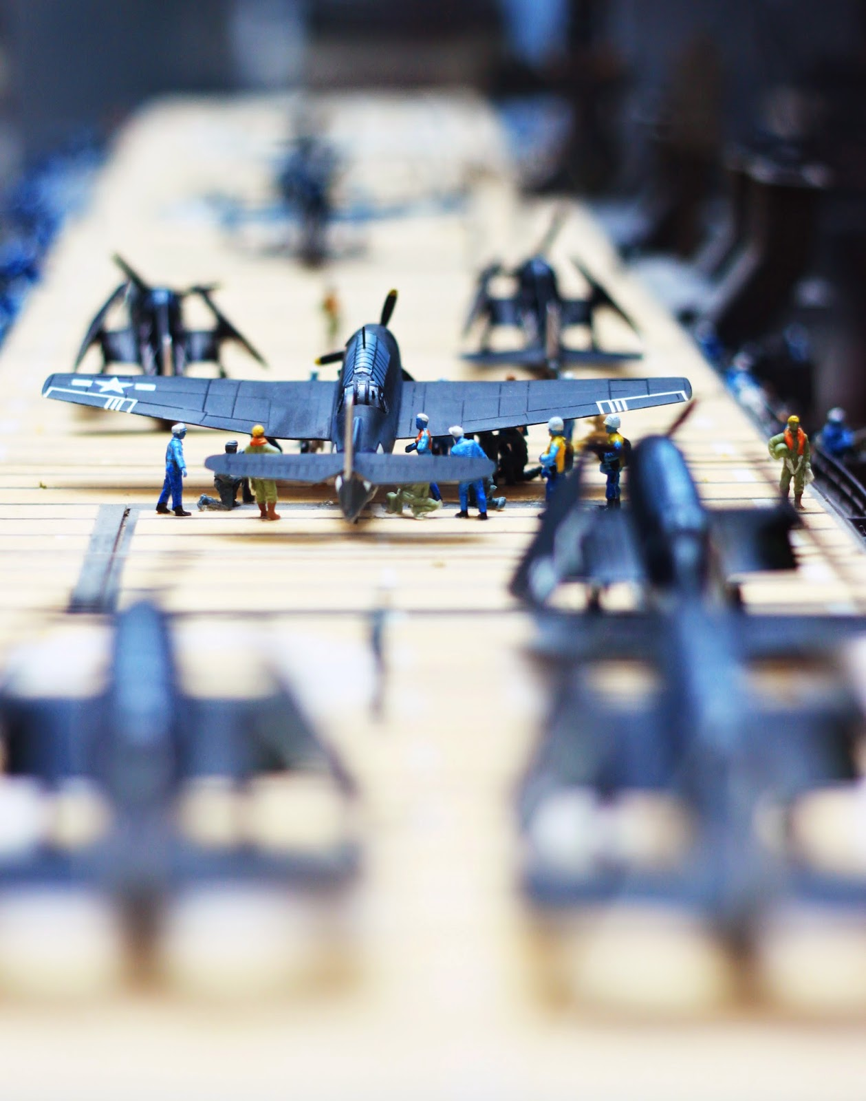 Pensacola NAS air craft carrier miniature