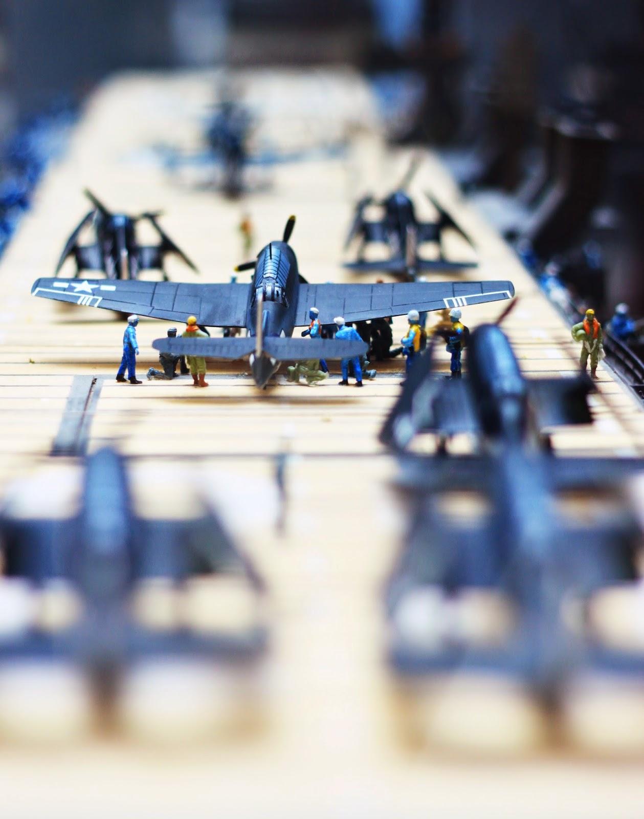 Pensacola NAS air craft carrier miniature