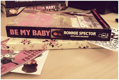 be my baby book, ronnie spector, the ronettes, be my baby book review
