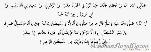 Quran Surat Ali 'Imraan ayat 36
