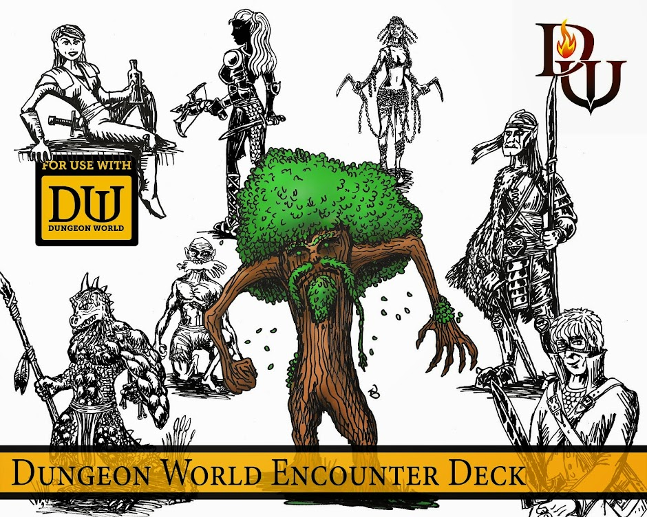 Dungeon World Encounter Decks