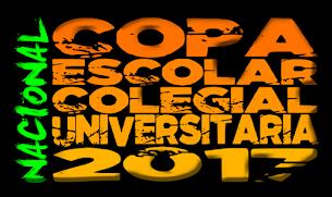 COPA NACIONAL ESCOLAR COLEGIAL UNIVERSITARIA DE XCO 2017