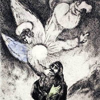 Chagall: Jeremiah Receiving the Gift of Prophecy