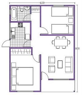 Artes plasticas dibujo t cnico for Representacion grafica de planos arquitectonicos